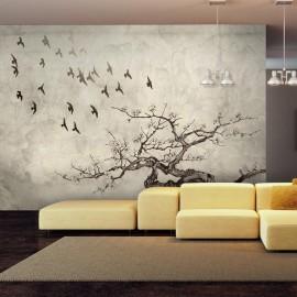 Fotomural - Flock of birds