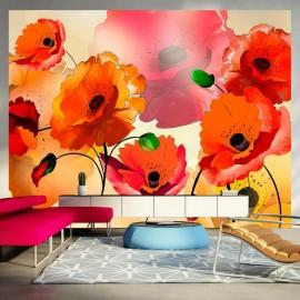 Fotomural - Velvet poppies