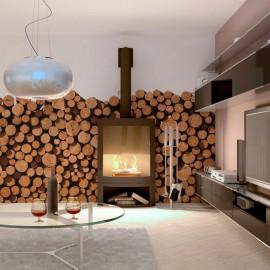 Fotomural - Estaca de madeira