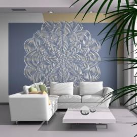 Fotomural - Ornamento branco