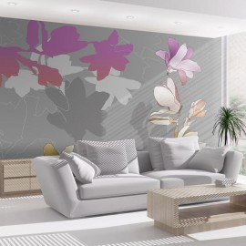 Fotomural - Magnolias de colores pastel