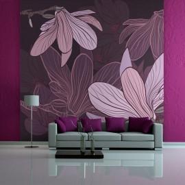 Fotomural - Dreamy flowers
