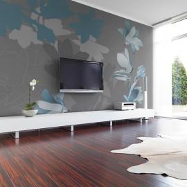 Fotomural - Magnolias azules
