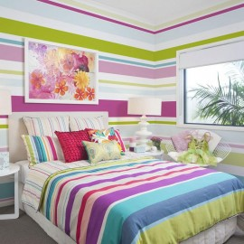 Fotomural - Bright stripes