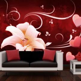 Fotomural - Love message