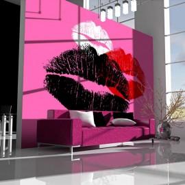Fotomural - Três beijos