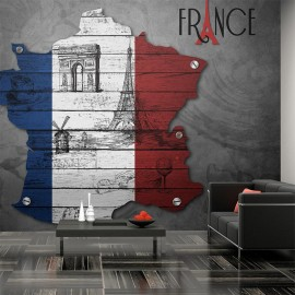 Fotomural - Francia (símbolos)