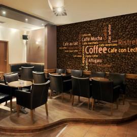 Fotomural - Latte, espresso, cappucino...