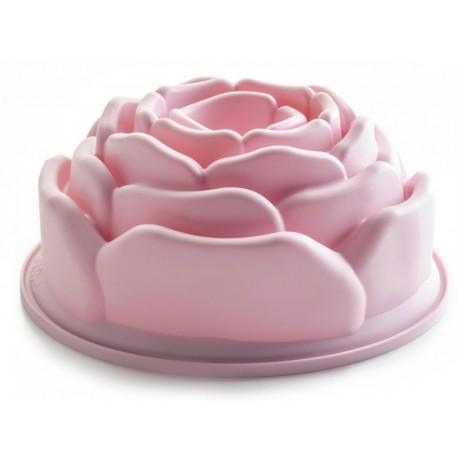 molde rosa silicona