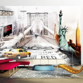 Fotomural - Calles de Nueva York