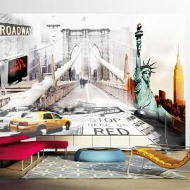Fotomural - New York streets