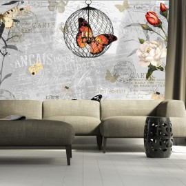 Fotomural - Canto de las mariposas