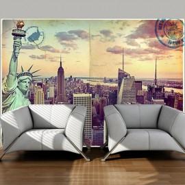 Fotomural - Postcard from New York