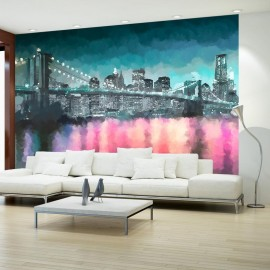 Fotomural - Nueva York pintoresca