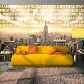 Fotomural - Neighborhoods of New York