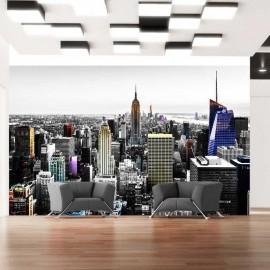 Fotomural - Iridescent skyscrapers