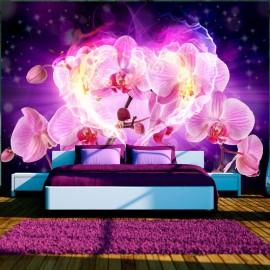 Fotomural - Orquídeas en llamas