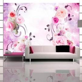 Fotomural - Variaciones rosadas