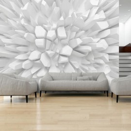 Fotomural - White dahlia