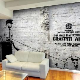 Fotomural - Banksy - Graffiti Area