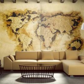 Fotomural - Mapa de los buscadores del oro