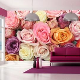 Fotomural - Colores rosa pastel