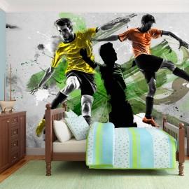 Fotomural - Estrellas del fútbol