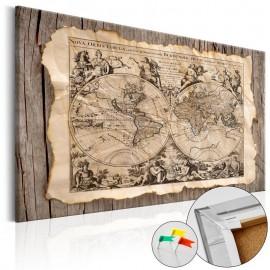 Quadro de cortiça - Map of the Past [Cork Map]