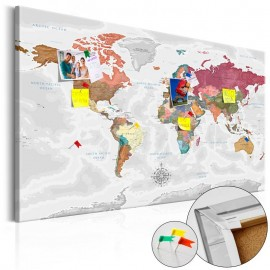 Tablero de corcho - Travel Around the World [Cork Map]