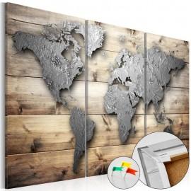 Quadro de cortiça - Doors to the World [Cork Map]