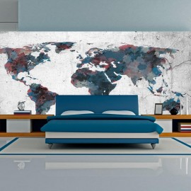 Fotomural XXL - World map on the wall