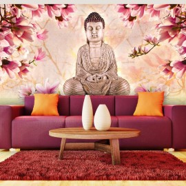 Fotomural XXL - Buddha and magnolia