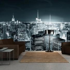 Fotomural XXL - Nova York vida noturna da cidade