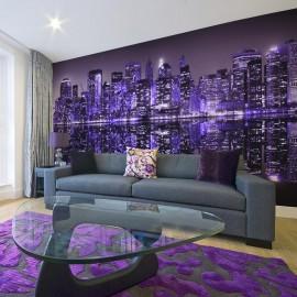 Fotomural XXL - American violet