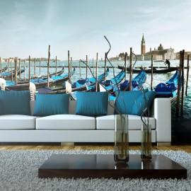 Fotomural XXL - Gôndolas sobre o Grande Canal, em Veneza