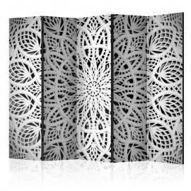 Biombo - White Mandala II [Room Dividers]