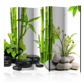 Biombo - Bamboos and Stones II [Room Dividers]