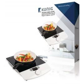 Placa de indução de 2000W König cozinha