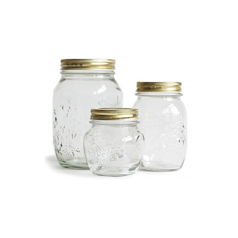 Tarros de cristal quattro stagioni botes de vidrio - Comprar tarros de cristal pequenos ...