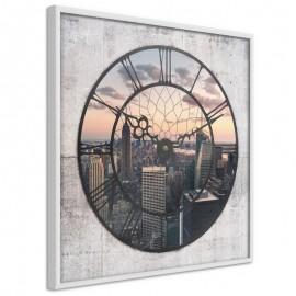 Pôster - City Clock (Square)