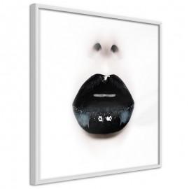 Póster - Black Lipstick (Square)