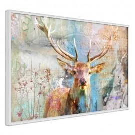 Póster - Pastel Deer