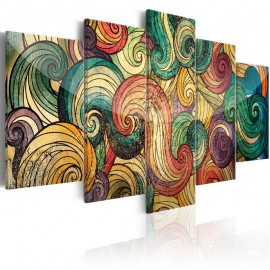 Quadro - Colourful Waves