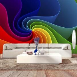 Fotomural autoadhesivo - Colorful Pinwheel