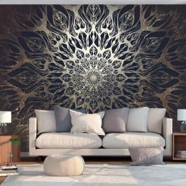 Papel de parede autocolante - Spider Web (Brown)