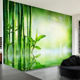 Papel de parede autocolante - Bamboo Grove