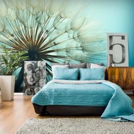 Papel de parede autocolante - Blue Fascination