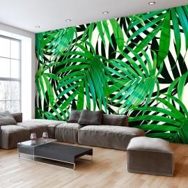 Papel de parede autocolante - Tropical Leaves