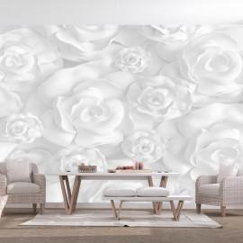 Papel de parede autocolante - Plaster Flowers