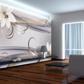 Papel de parede autocolante - Remember the Lilies